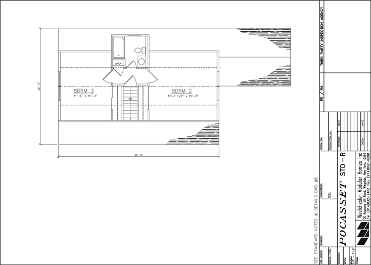 Pocasset Cape second floor design